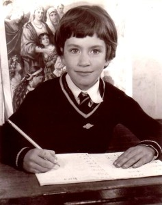 Editing Sibyl, Kerry Cue at St Kevin's Primary School Ormond circa 1958