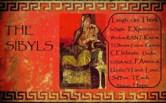 Sibyls Emblem Red Frescoe