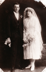 Eileen and Tom Meehan Married 1922