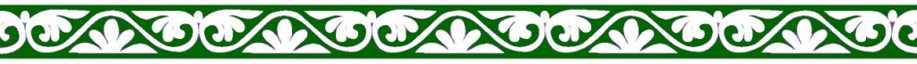 Roman border green