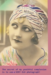 Sibylesque 1920s Flapper