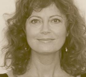 Susan Sarandon B&W