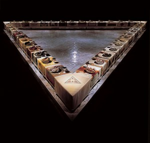 The Dinner Party Judy Chicago 1974 - 79
