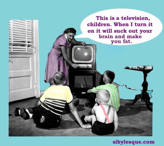 1950s TV spidersden blog