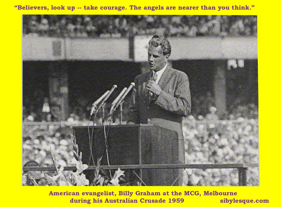 Billy Graham MCG 1959