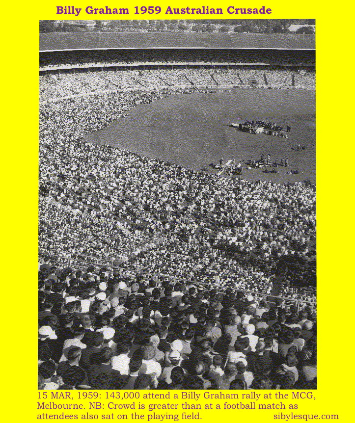 Billy Graham Rally MCG 1959