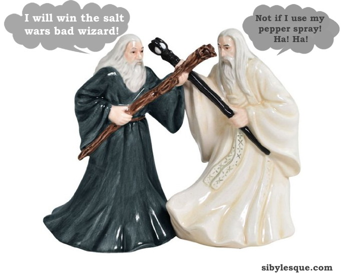 salt and pepper wizards   eBbay