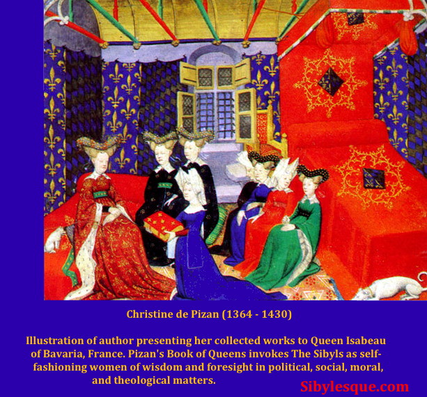 Sibylesque   Christine de Pizan  Book of Queens