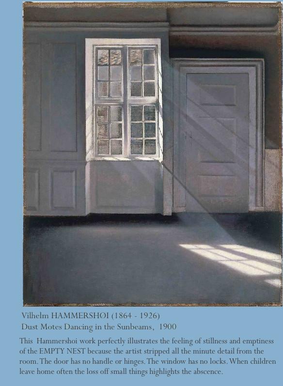 Sibylesque Empty Room Hammershoi