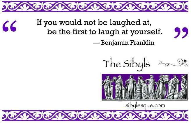 Sibylesque Laughter quote 2