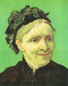 Van Gogh  Portrait of the mother of the artist, 1888. Anna was 69 years old.