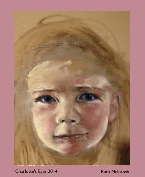 Charlotte's Eyes 2014  Ruth McIntosh