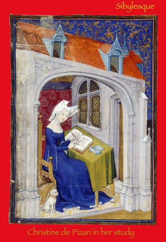 Sibylesque Christine de Pizan in her study