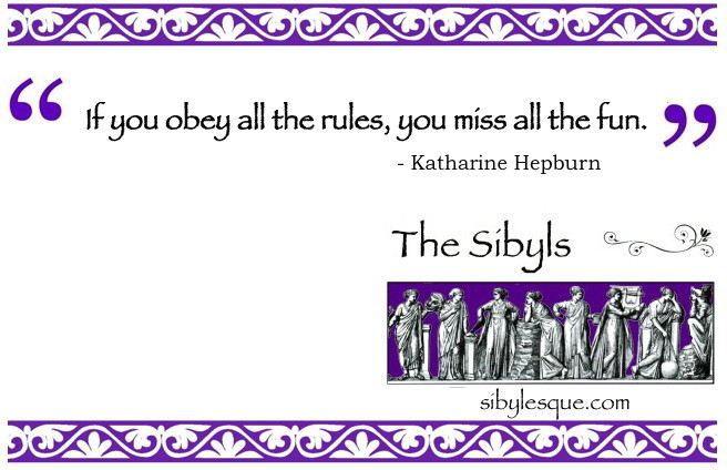 Sibylesque Katherine Hepburn Quote