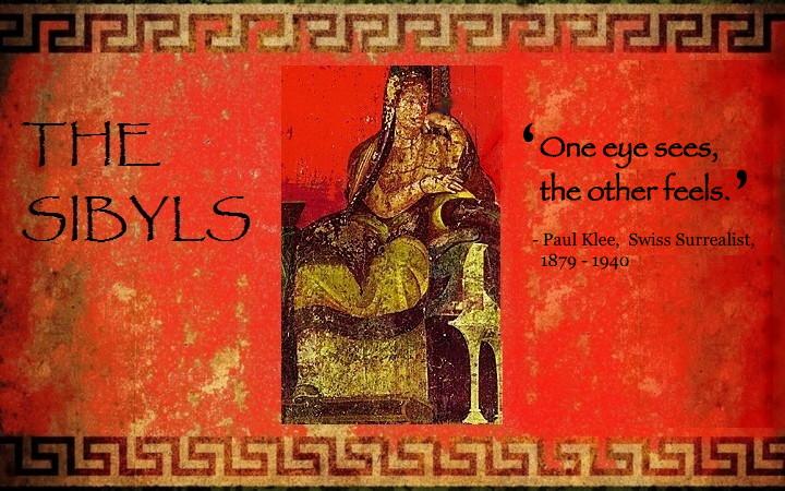 Sibylesque Paul Klee quote