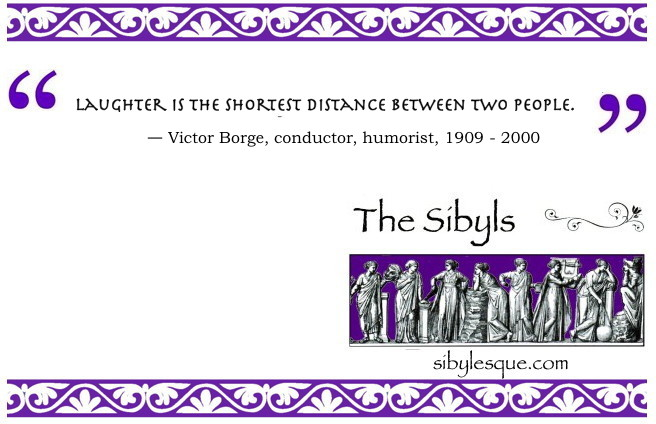 Sibylesque Victor borge Quote 1