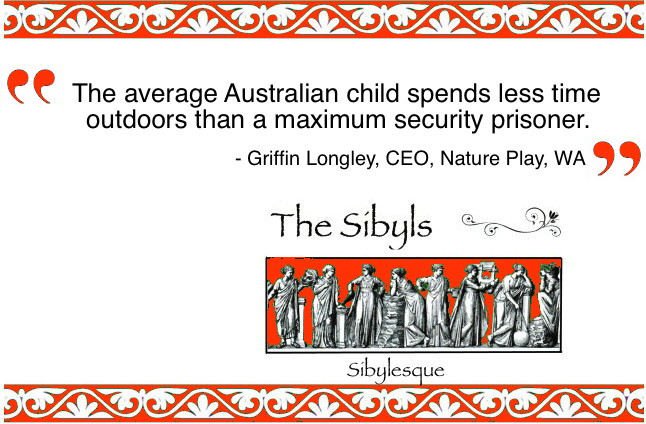 Sibylesque Nature Play Quote