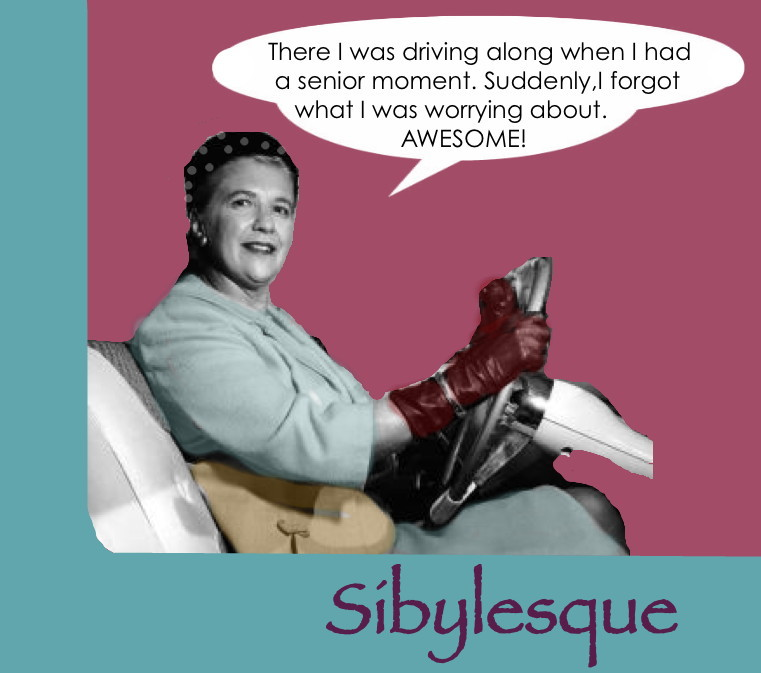Sibylesque Senior Moment