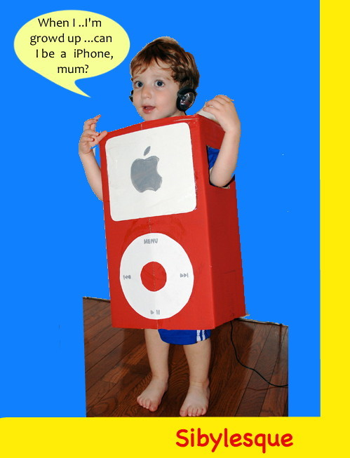Sibylesque iPod kid