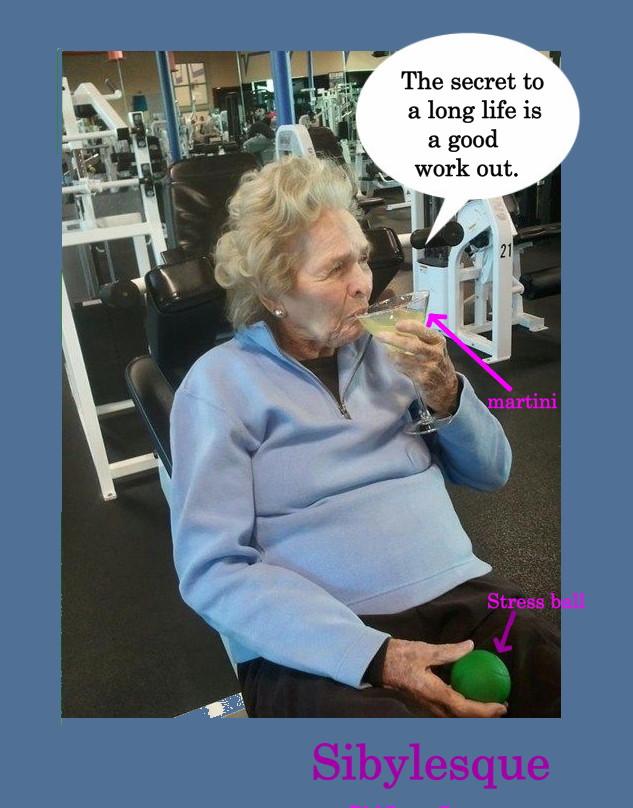 Sibylesque Long Life Martini