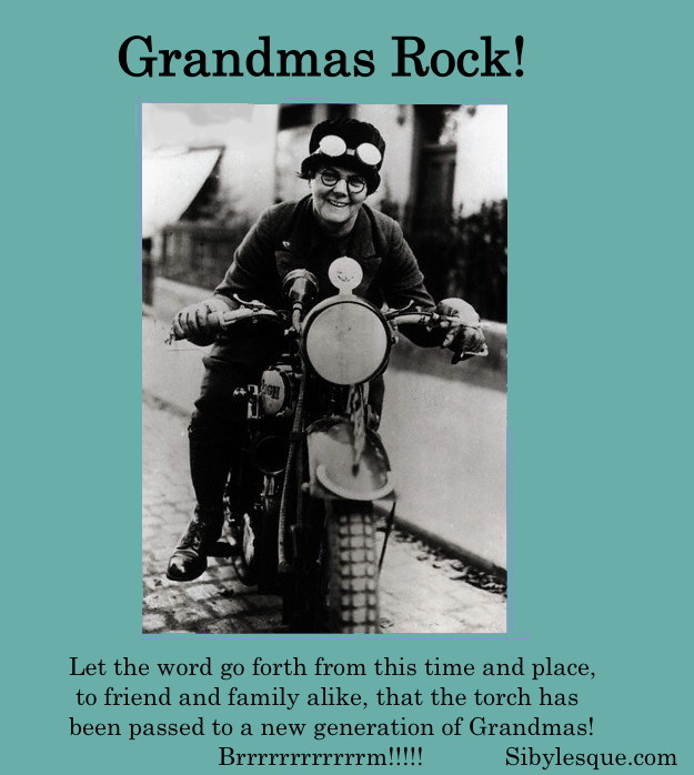 Sibylesque Grandmas Rock