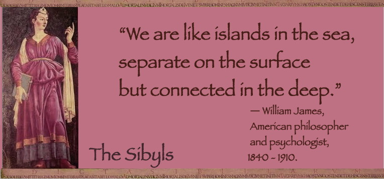 Sibylesque William James Quote