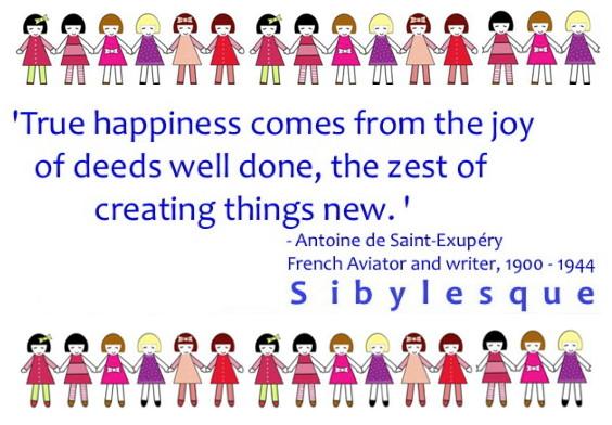 Antoine deSaint Exupery Quote