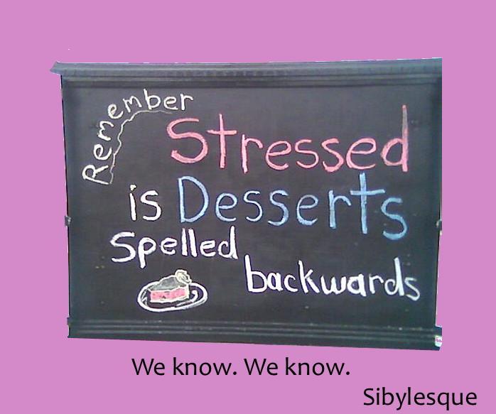 Sibylesque desserts