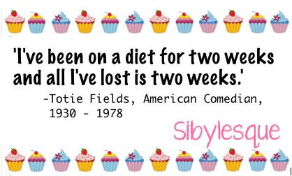 Sibylesque diet Quote