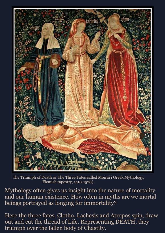 Sibylesque The three fates
