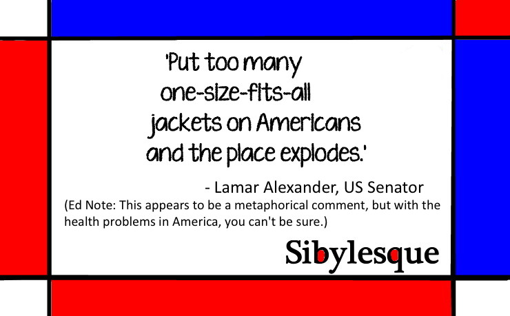 Sibylesque One size fits all quote