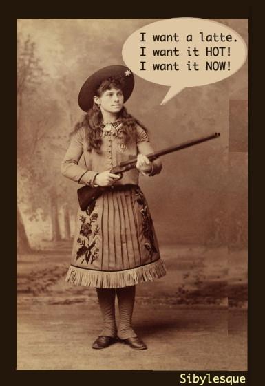 Sibylesque Annie OAKLEY Gun 2