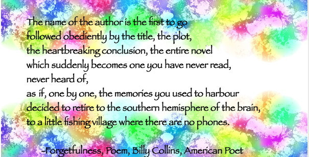 Sibylesque  Billy collins quote