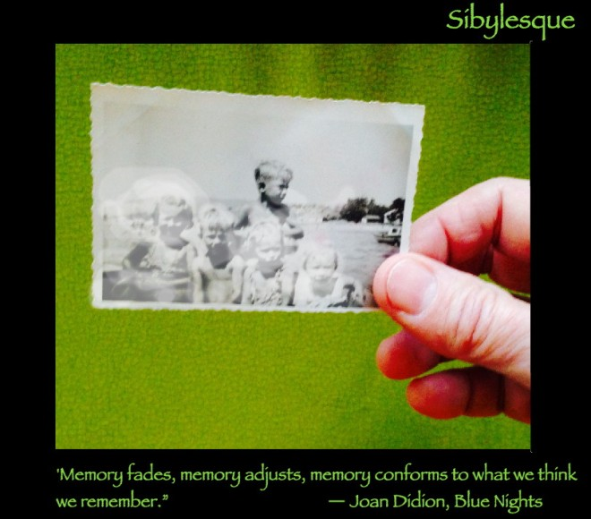 Sibylesque Joan Didion Memory quote