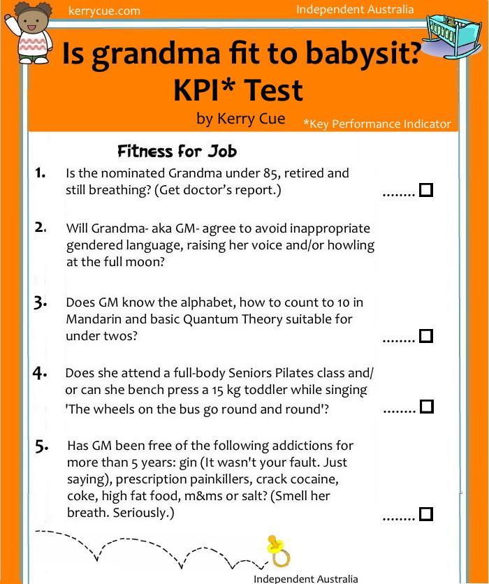 Grandma Test 1New