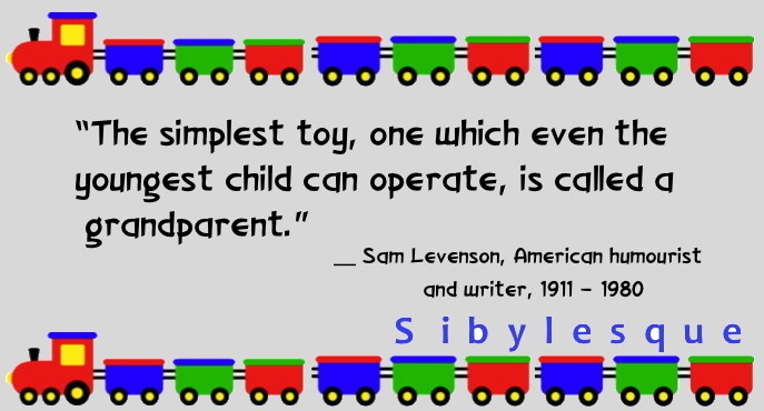 Sibylesque toy grandparent quote quote