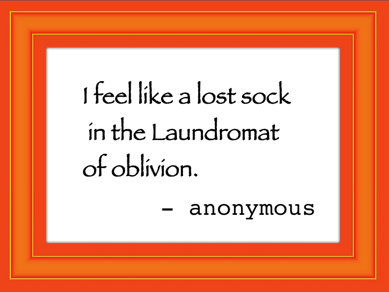 Sibylesque laundry quote